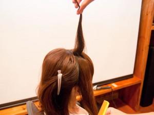 セルフでかわいい編み込みヘアアレンジ
