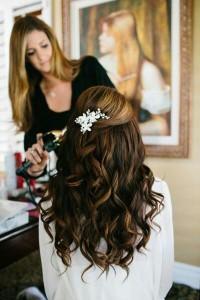 大人かわいい重めヘアスタイル