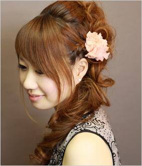 結婚式・パーティーにおすすめの髪型