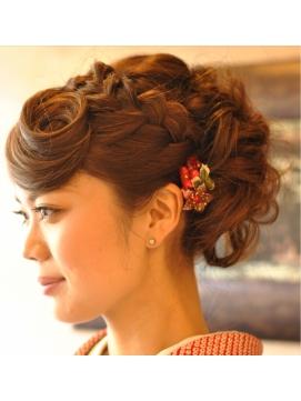 着物・和装に似合うヘアスタイルデザイン