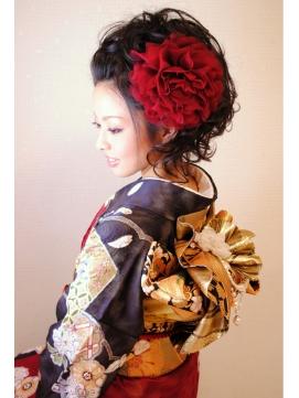 袴に似合う卒業式の黒髪ヘアカタログ