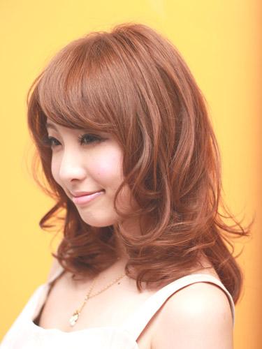 ブラウンカラー - オレンジブラウン編
