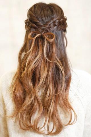 【2017年人気継続!】地毛でつくる超絶可愛いリボンヘアまとめ♪