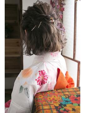 お祭りや花火大会にしたい!浴衣に似合うヘアスタイル集【2017年最旬】