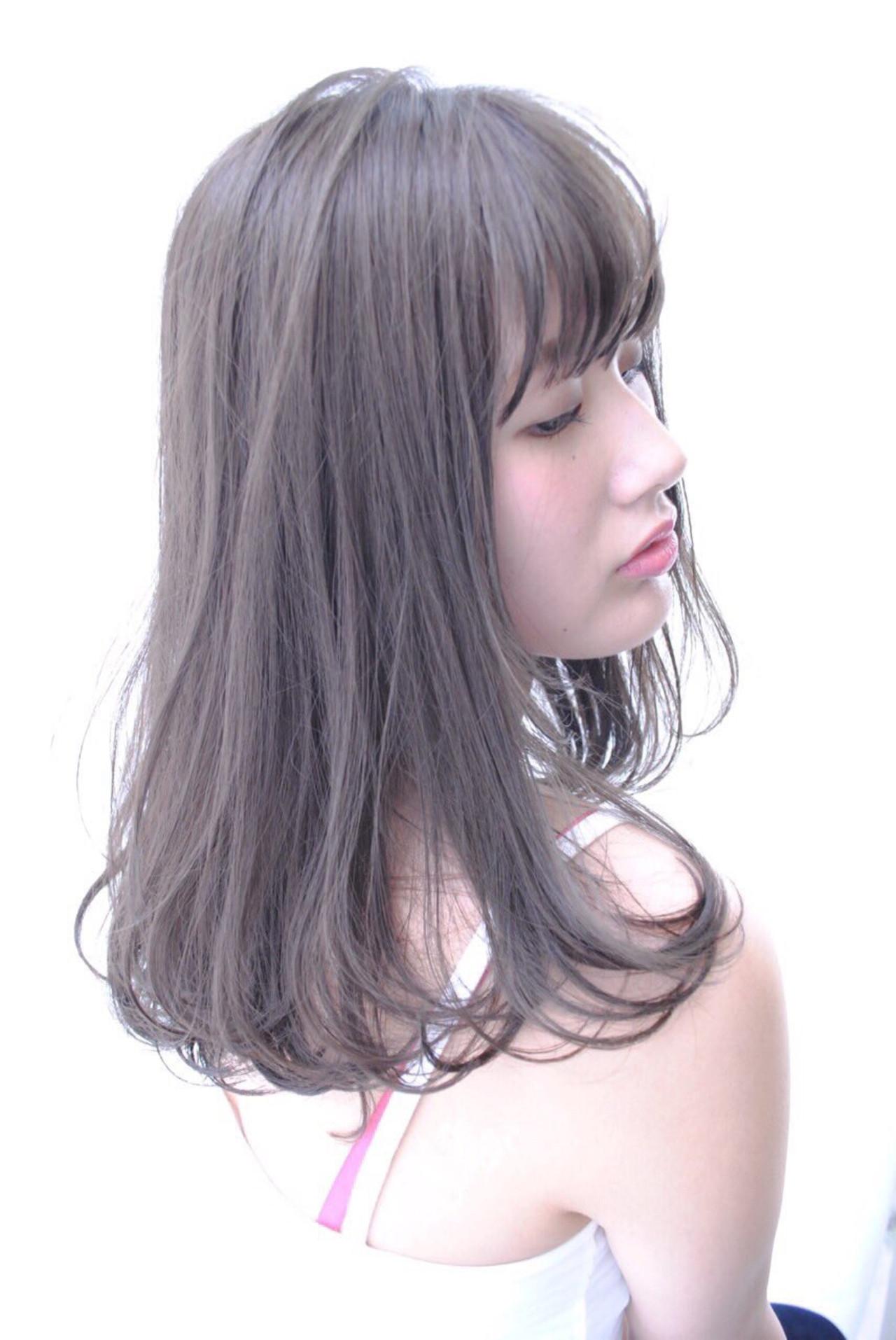 愛されモテヘア♡透明感溢れるアッシュグレージュのヘアスタイル集【2017年秋ヘアカラー】
